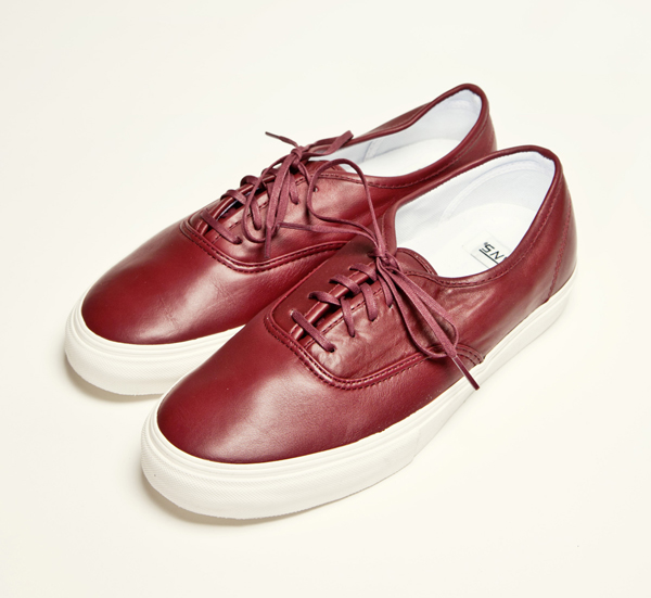 Vans All Red Leather Sportscafeen.nu