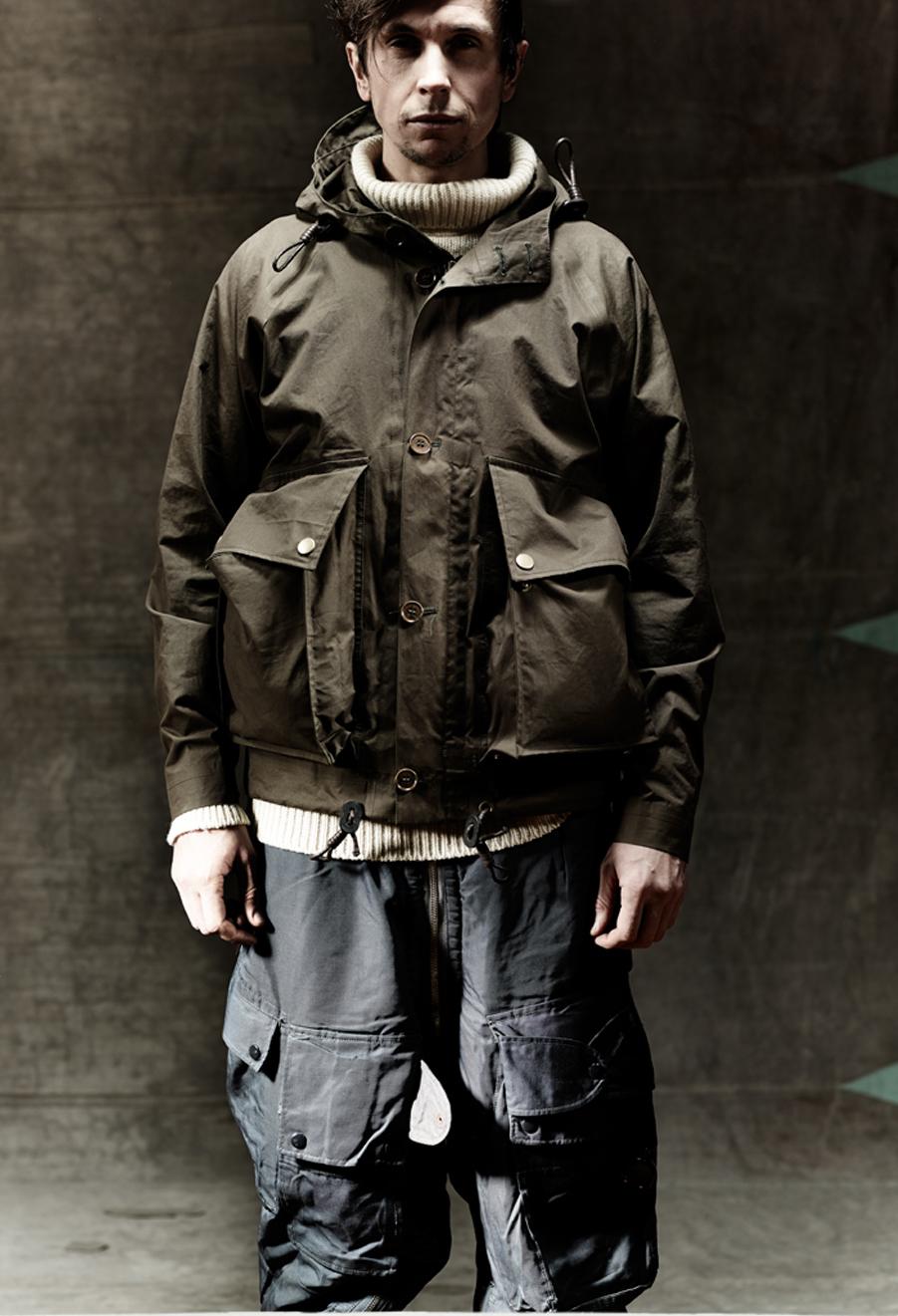 Parka Jacket Mens