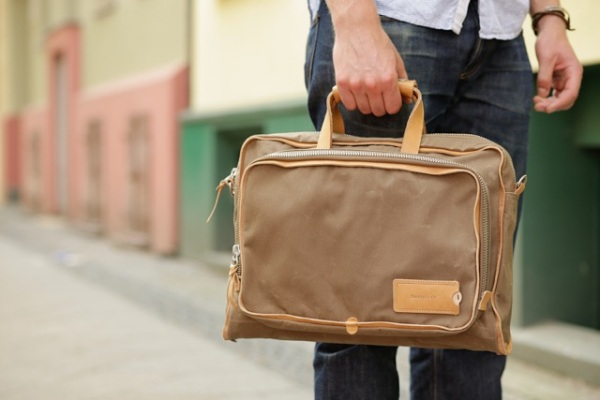 Property Of… Arnald Work Bag Sand