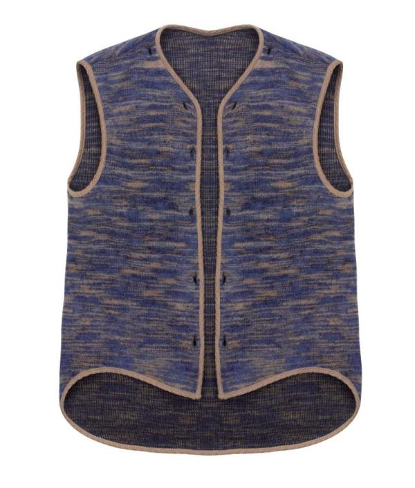 JM and Missoni Sleeveless Jacket - Low Res