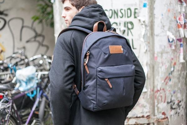 PROPERTY OF… Tommy Backpack Navy nylon Cordura