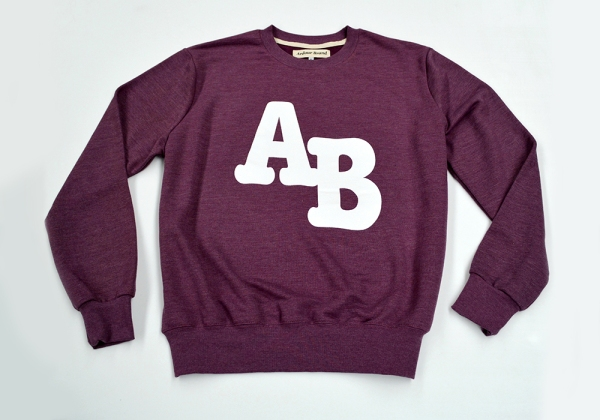 AB college sweater