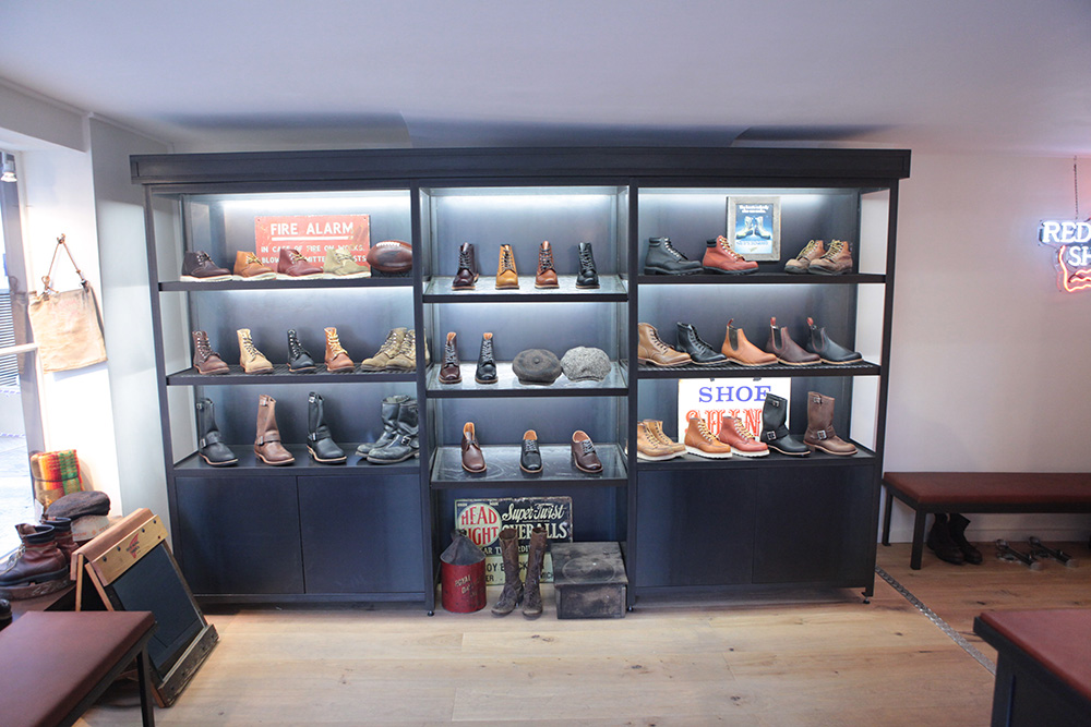 Redwing Shoes new London shop | Lineage of influence